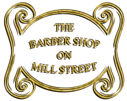 Logo of The Barber Shop on Mill Street